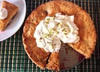 Plum & Pistachio Torte