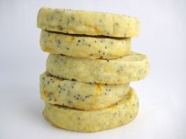 Orange-Poppyseed Shortbread Cookies