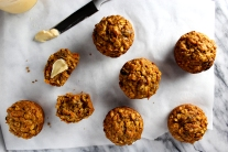 Whole Grain Carrot Muffins