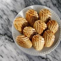 Spiced Brown Butter Madeleines