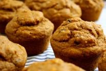 Sweet Potato Corn Muffins