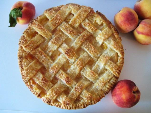 overhead peach pie fin
