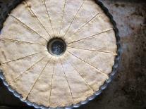 Pan Shortbread with Brown Butter, Lemon & Vanilla Bean