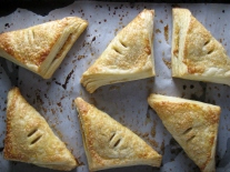 Apricot, Almond and Coconut Turnovers in Homemade Puff Pastry