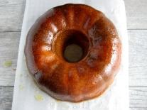 Matcha-Honey Marble Bundt Cake
