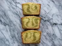 Matcha & Honey Marble Pound Cake