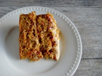 Carrot-Beet Cake with Brown Sugar Cream Cheese Frosting