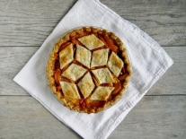 Peach Pie with Poppyseed Pastry