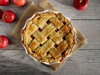 Apple-Cranberry Lattice Pie