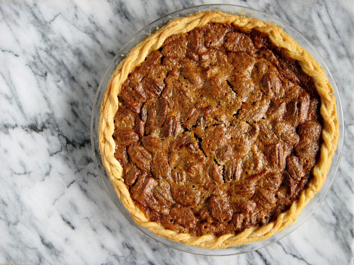 Contemporary Pecan Pie