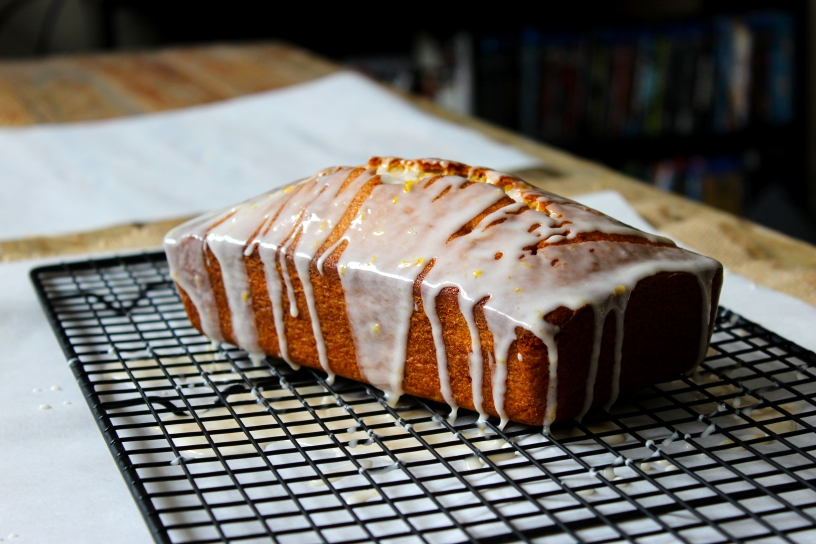 Grapefruit Brown Sugar Pound Cake